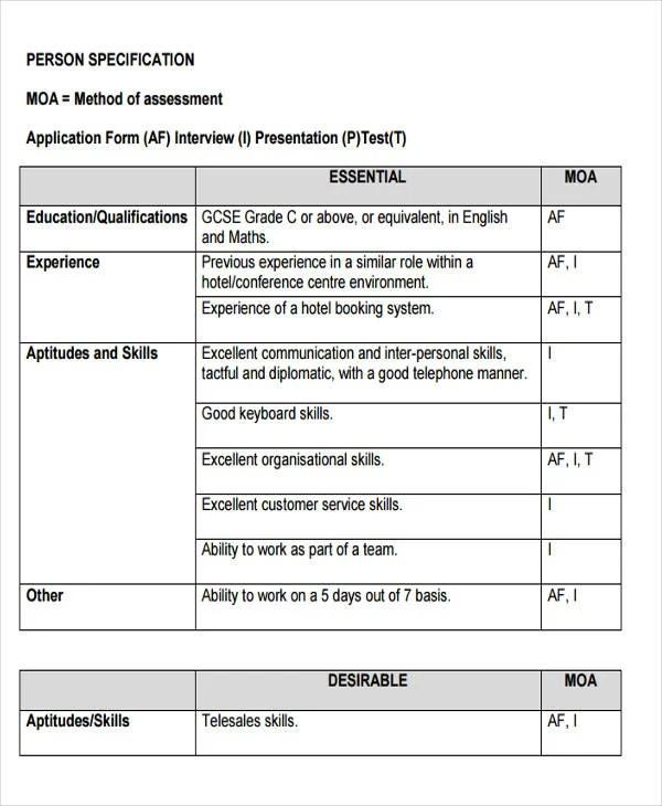 49+ Job Application Form Templates Free  Premium Templates - job application forms