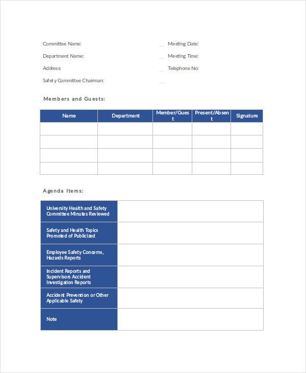 17+ Agenda Planner Templates Free  Premium Templates - agenda planner template