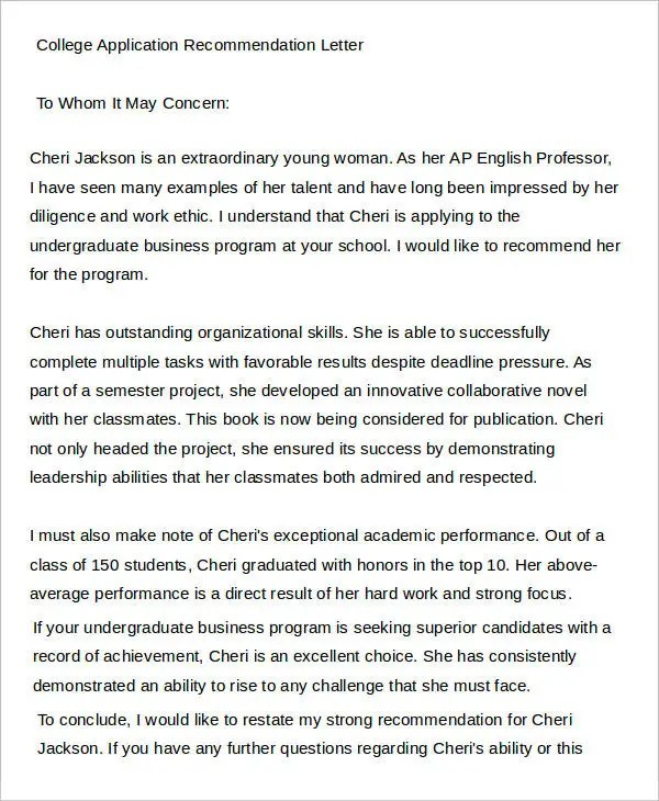 The Essay (I am Dying for a 12) - Perfect Score Project letter of