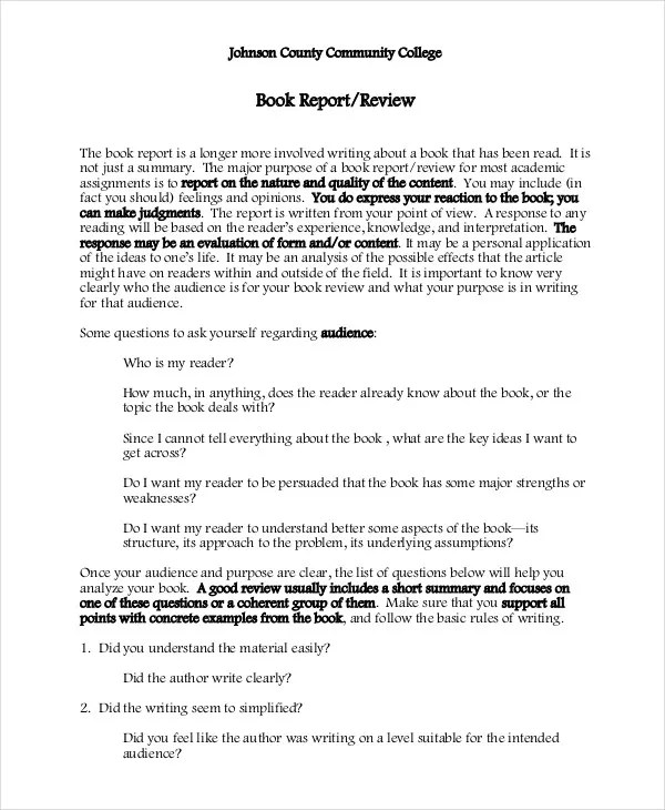 college book report book report outline college level professional