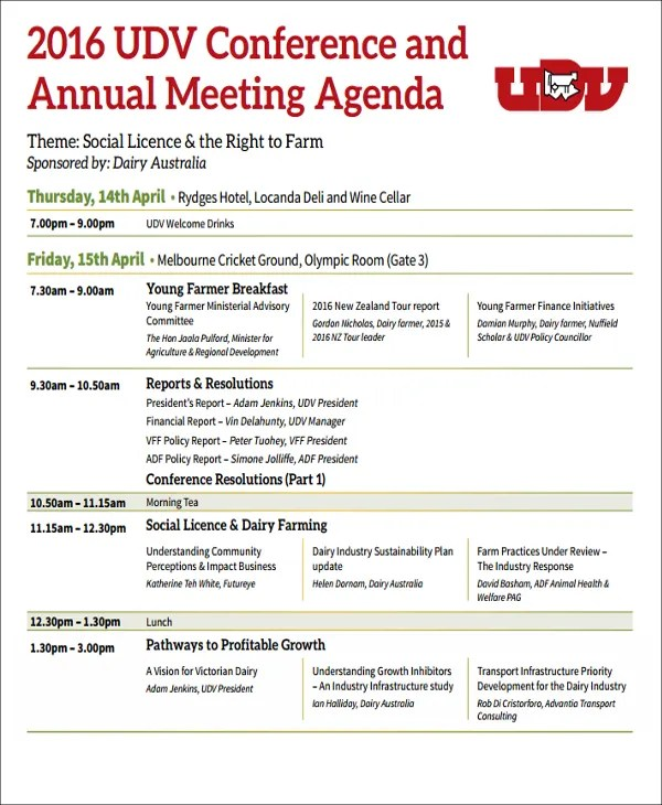 conference meeting agenda - Onwebioinnovate - conference agenda