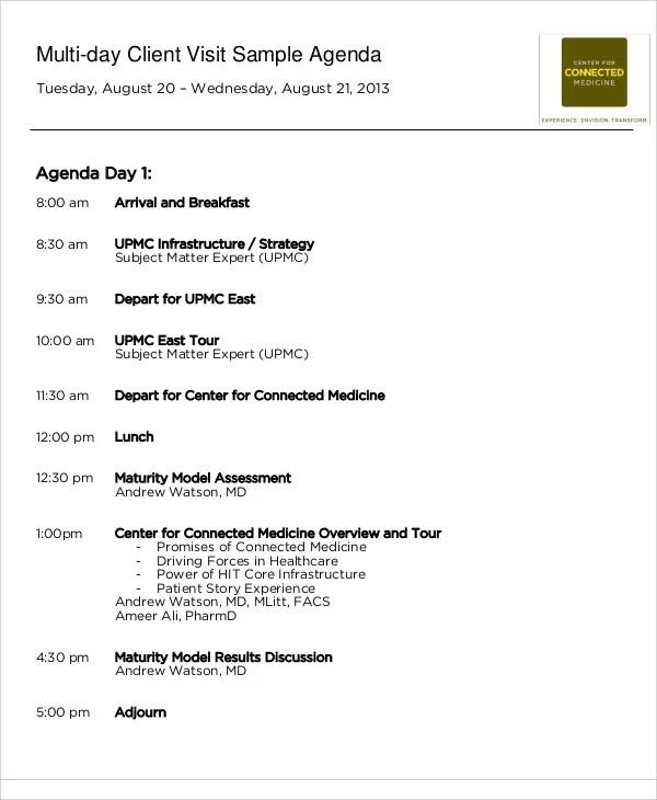 sample agenda template - political agenda template