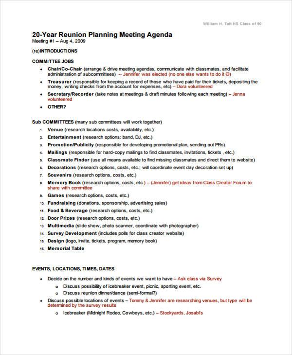 Agenda Creator - Arch-times