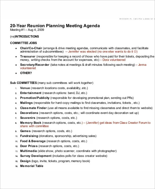 Meeting Program Sample  NodeCvresumePaasproviderCom