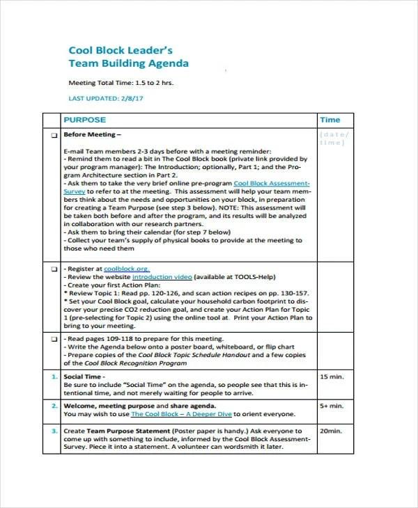 44+ Agenda Templates in PDF Free  Premium Templates - making agendas