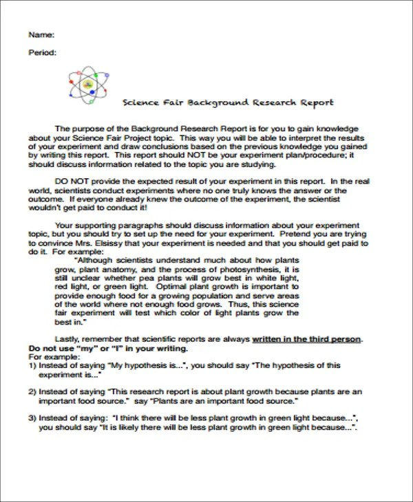 science fair research paper template  science fair background  science fair research paper template