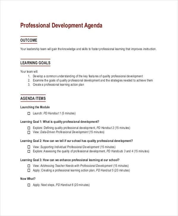 33+ Agenda Template Designs Free  Premium Templates