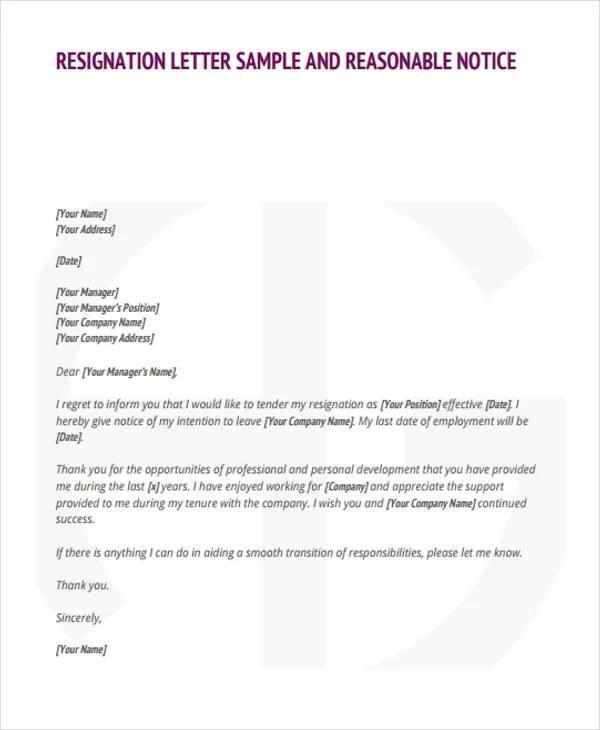sle resignation letter reason for leaving sle