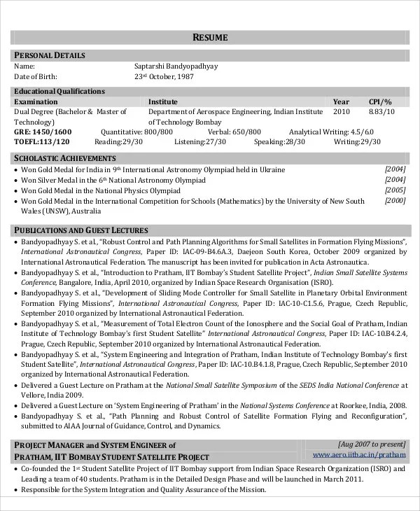 54+ Engineering Resume Templates Free  Premium Templates - resume templates engineering