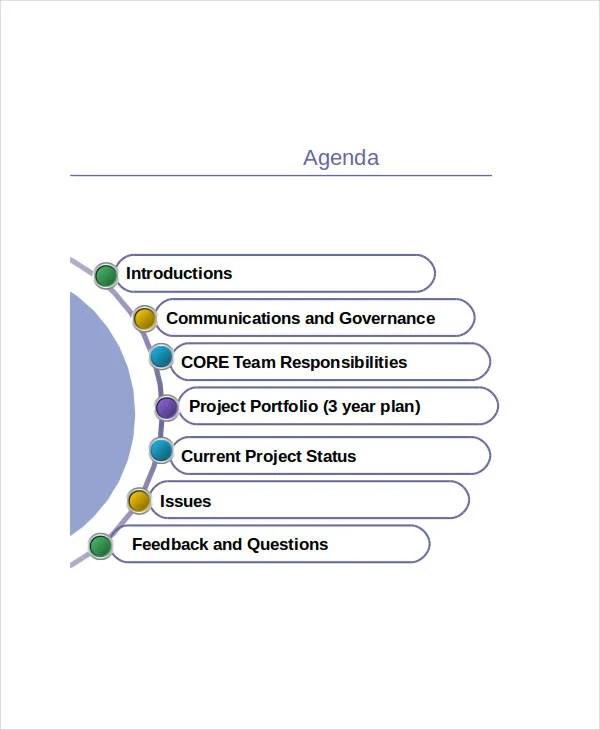 15+ Agenda Templates in PPT Free  Premium Templates