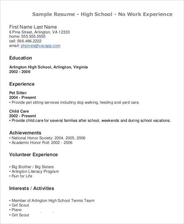 40+ Modern Teacher Resume Templates - PDF, DOC Free  Premium