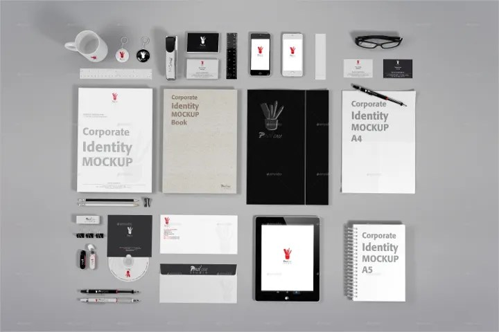 Smart Compatible 13+ Corporate Identity Mockups - Psd, Ai, Eps | Free