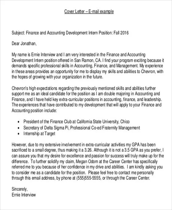 39+ Cover Letter Examples Free  Premium Templates
