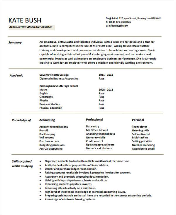 42+ Curriculum Vitae Examples - PDF, DOC Free  Premium Templates