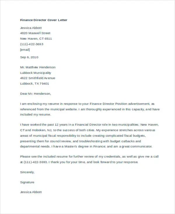automotive finance manager cover letter   resume-template ...