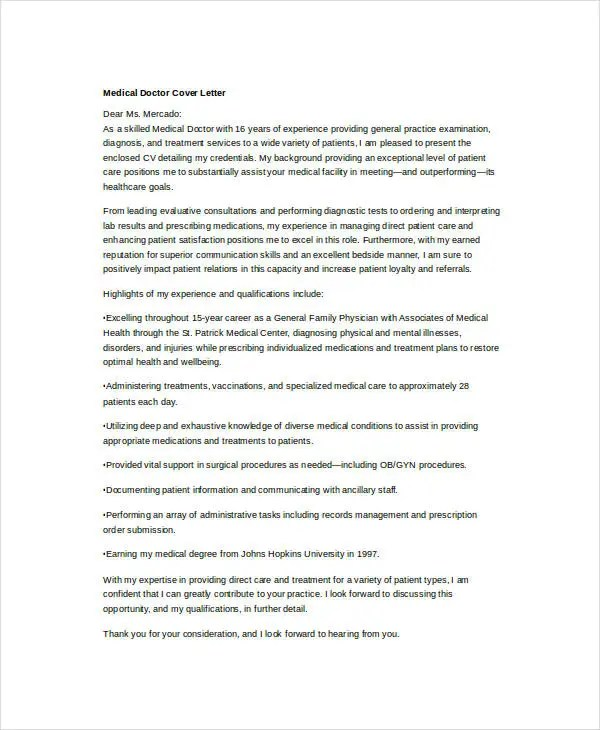 36+ Cover Letter Template in Word Free  Premium Templates