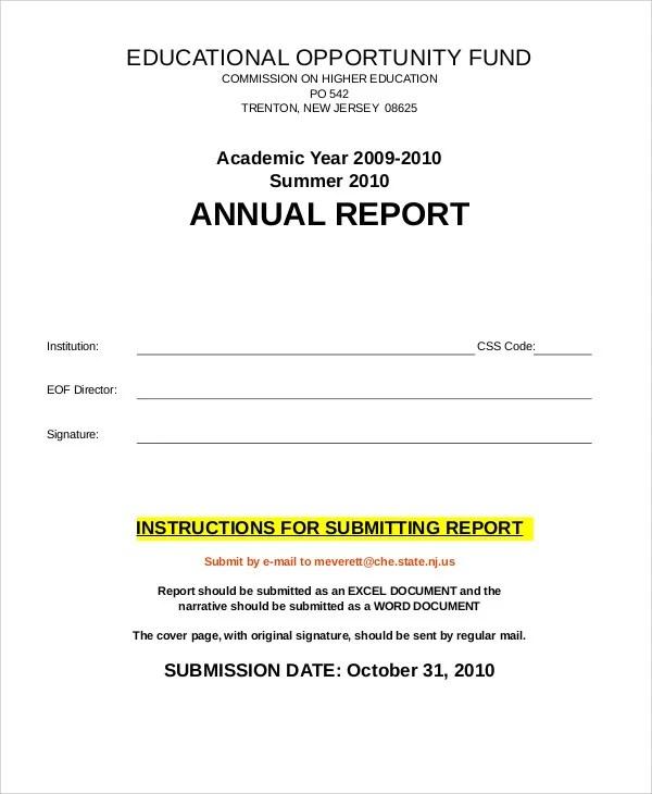 academic report format - Selol-ink