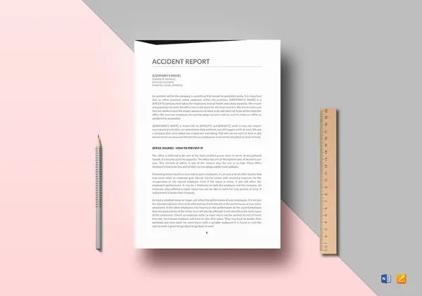 Damage Report Template - 13+ Free Word, PDF Format Download Free