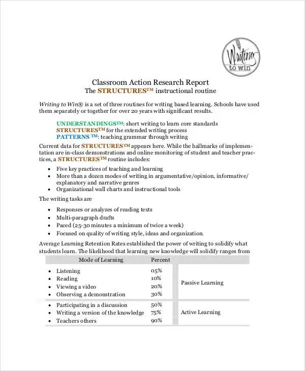 research report format - Goalgoodwinmetals