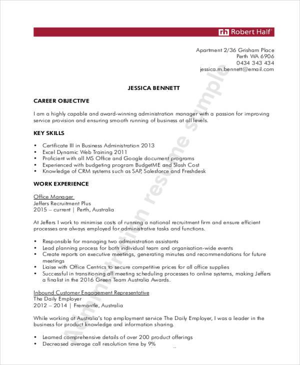 10+ General Resume Templates - PDF, DOC Free  Premium Templates