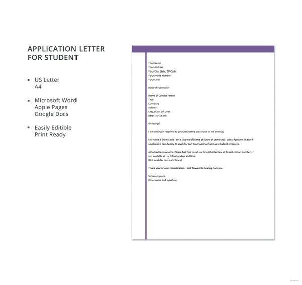 letter of deployment format