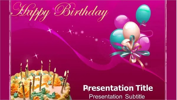 Birthday PowerPoint Templates - 9+ Free PPT Format Download Free
