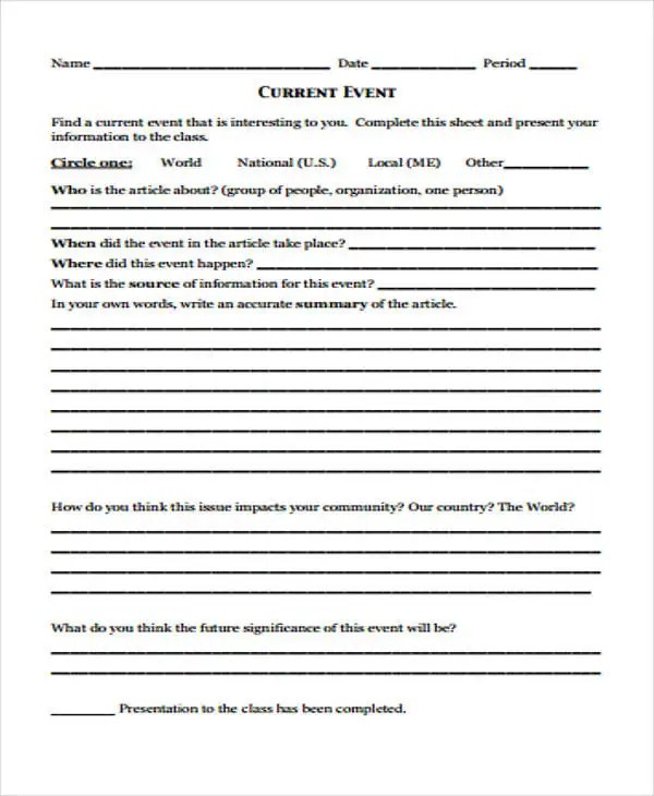 20+ Event Report Templates - PDF, Word, Docs, Pages Free  Premium