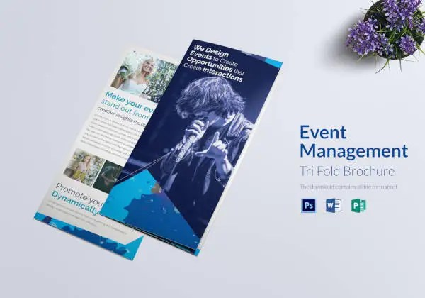 30+ Event Brochure Templates Free  Premium Templates - create tri fold brochure