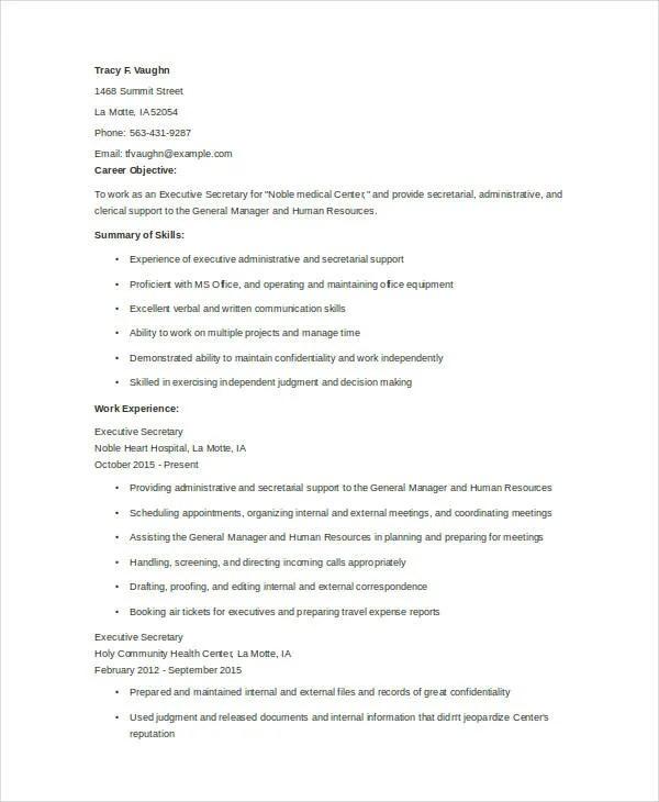 23 resume format samples free premium templates