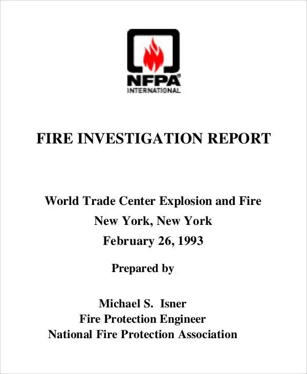 Investigation Report Templates - 11+ Free Word, PDF Format Download