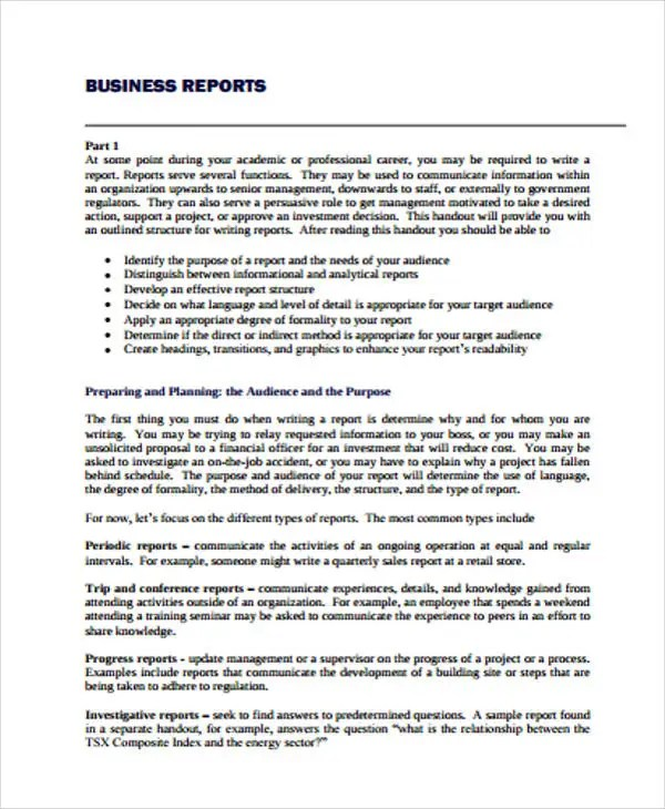 36+ Report Examples Free  Premium Templates - analytical report template
