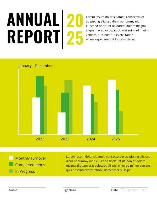Annual Report Template - 9+ Free Word, PDF Documents Download Free - free report templates