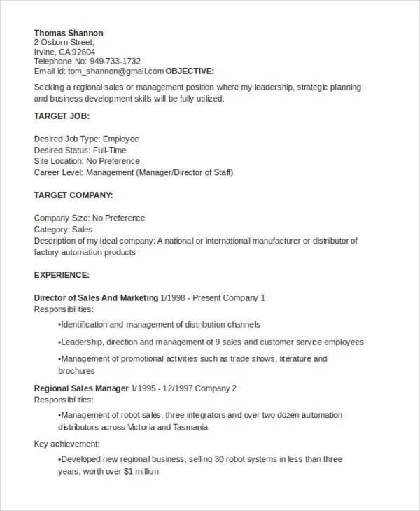 10+ General Resumes Templates - PDF, DOC Free  Premium Templates