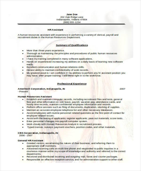 38+ Resume Format Templates Free  Premium Templates