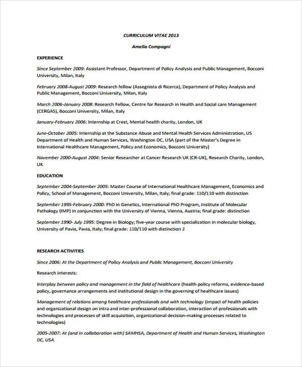 10+ Account Manager Resume Templates, Samples, Examples Format - healthcare resume template