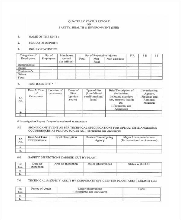 12+ Investigation Report Templates - Free Sample, Example Format - investigation report template
