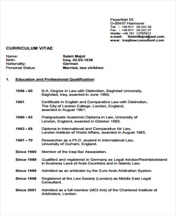 legal advisor sample resume legal advisor cv sample myperfectcv