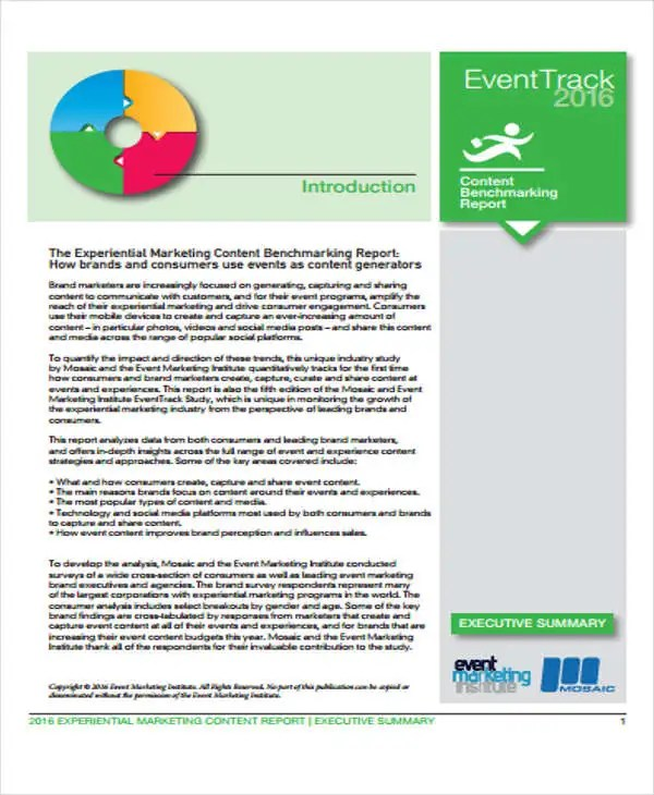 16+ Event Report Template - Free Sample, Example Format Downlaod - event summary report template