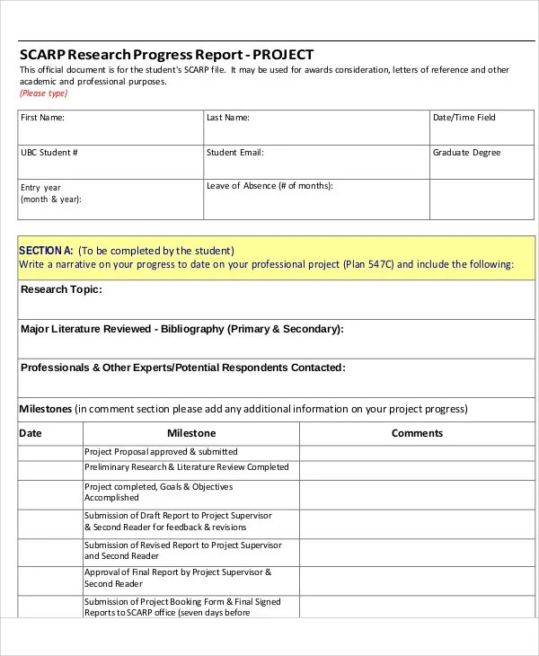 11+ Research Report Templates - Free Apple Pages, Google Docs, Word