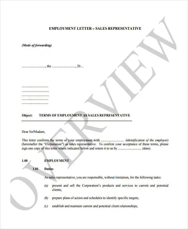 25+ Job Offer Letter Example Free  Premium Templates