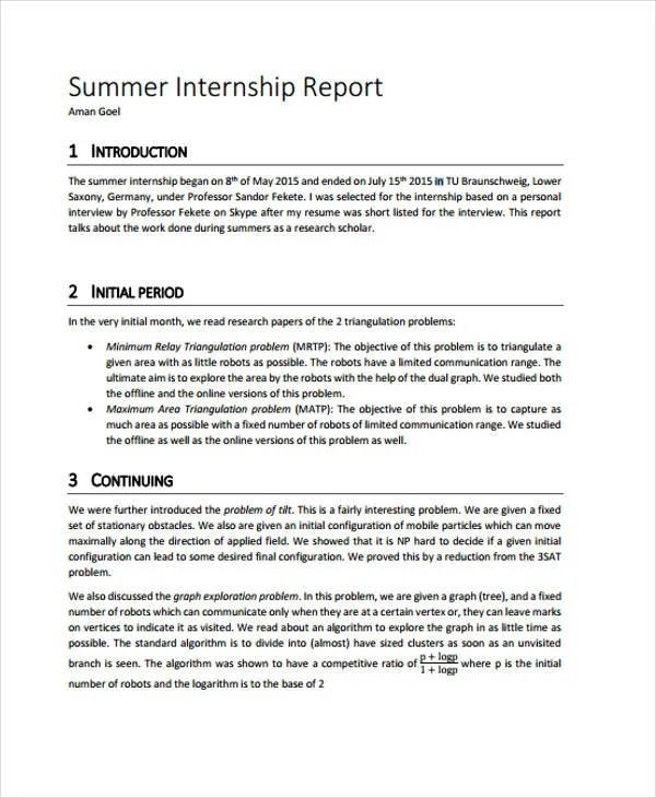 37+ Report Templates in PDF Free  Premium Templates