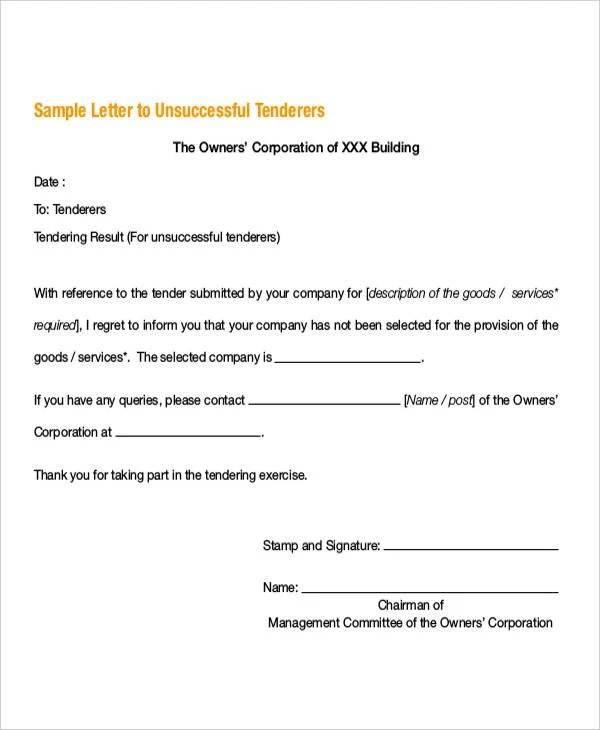 Offer Rejection Letter Templates - 8+ Free Word, PDF Format Download