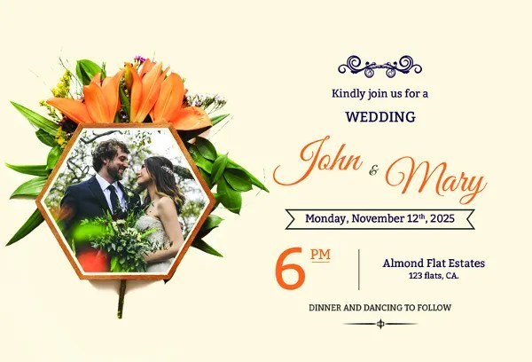 46 Wedding Invitation Designs Templates Psd Ai