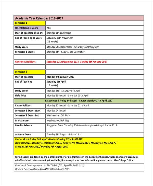 24+ Calendar Templates in PDF Free  Premium Templates