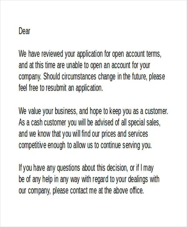 30 Awesome How to Write A Job Refusal Letter Images WBXO - refusal letter
