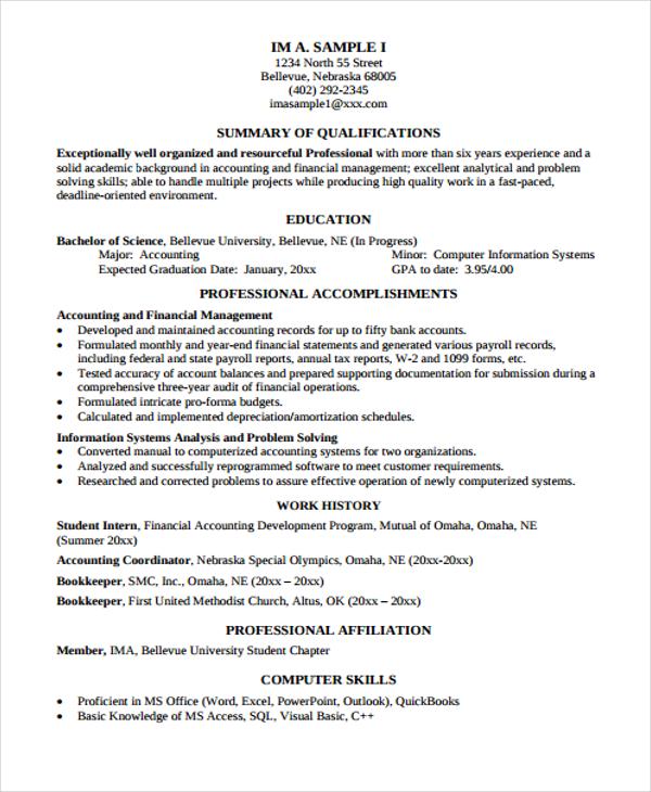 10+ Functional Curriculum Vitae Templates - PDF, DOC Free - functional cv template