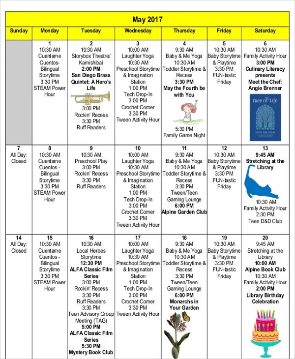 5+ Editorial Calendar Templates - Free Sample, Example Format - editorial calendar template