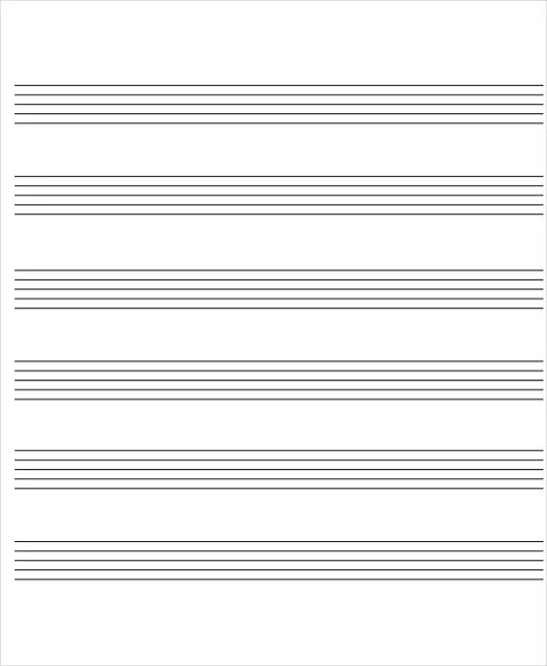 9+ Music Chart Templates - Sample, Examples Free  Premium Templates - music chart