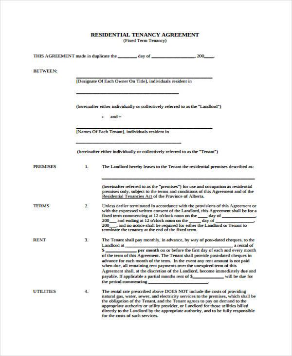 Landlord Tenancy Agreement Download 114 – Landlord Tenancy Agreement Download
