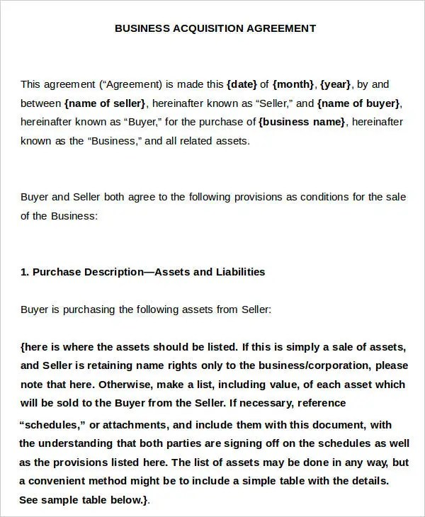9+ Business Agreement Templates - Samples, Examples Format - sample business agreements
